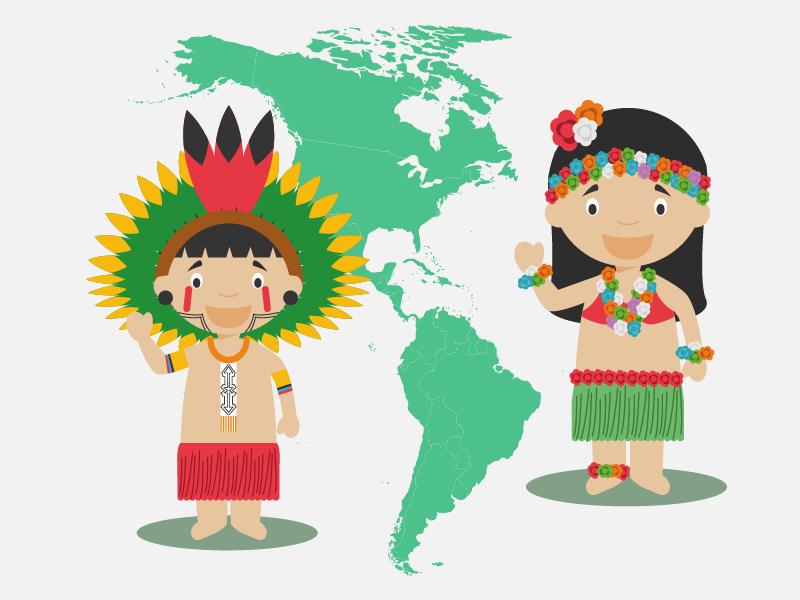 Indigenas de america