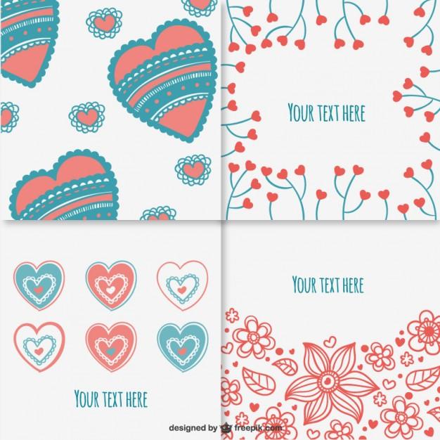 plantillas de san valentin para word