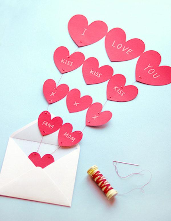 tarjetas de san valentin hechas a mano para una amiga