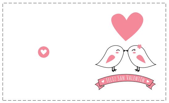 tarjetas del dia del amor y la amistad 14 de febrero