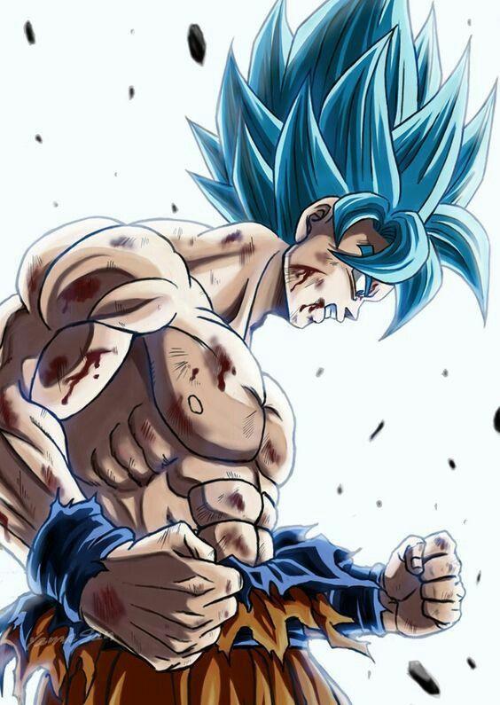 Wallpaper para celular de Goku
