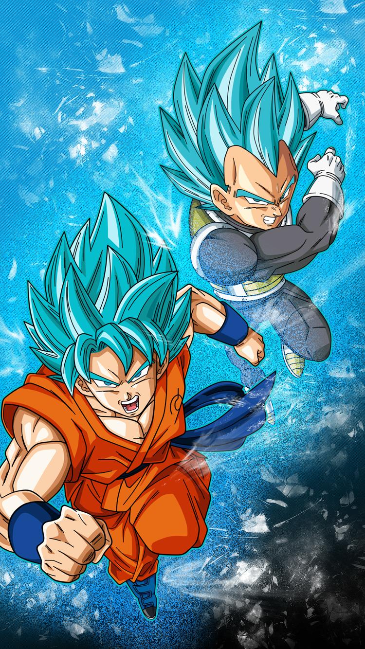 Fondo de celular Goku y Vegeta