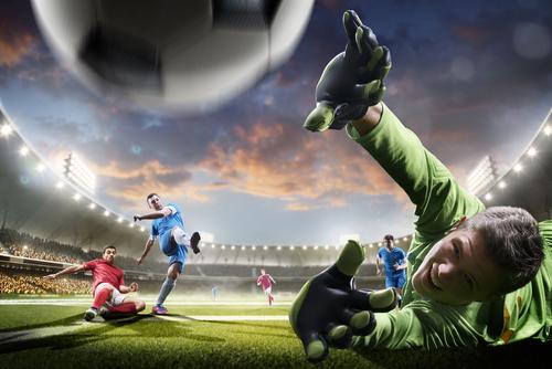 Futbol Gol Wallpaper 4K