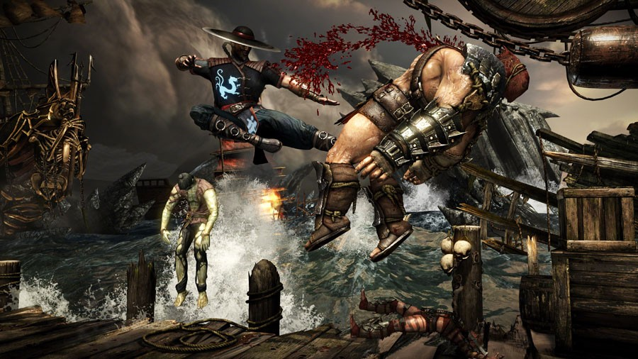 imagenes de scorpion mortal kombat 10