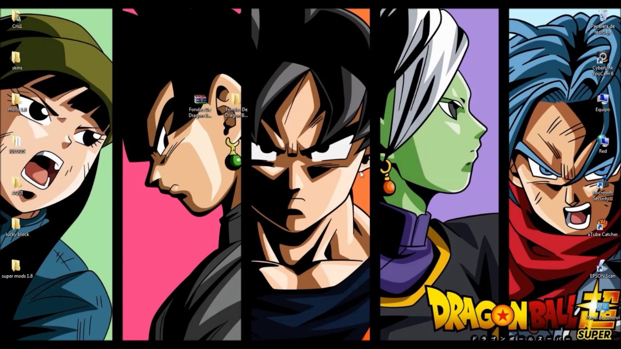 Imagen de las fases de Goku