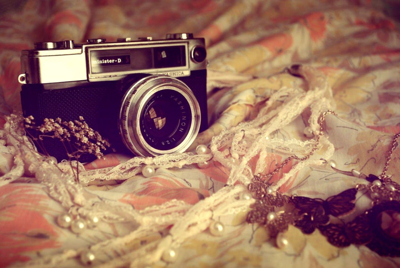 Fondo de pantalla cámara Vintage