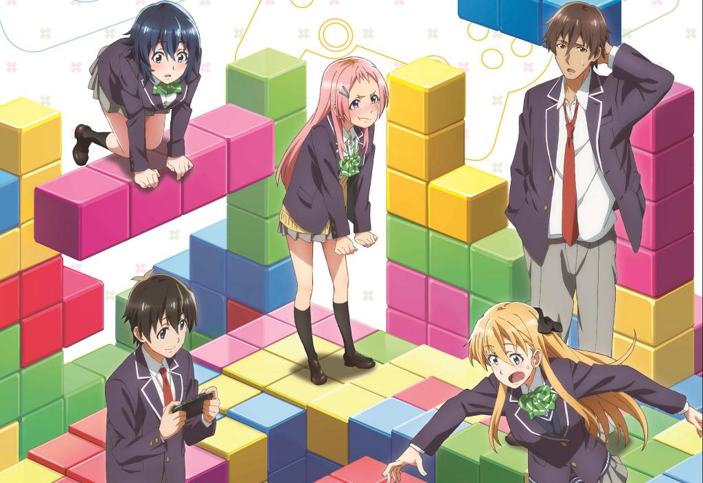 anime gamers wallpaper