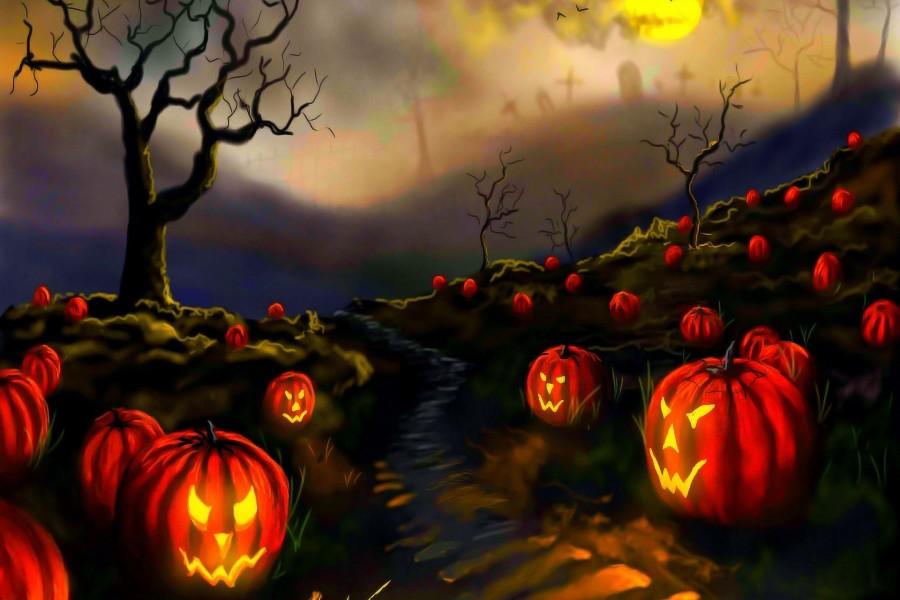 halloween fondos de pantalla 3d