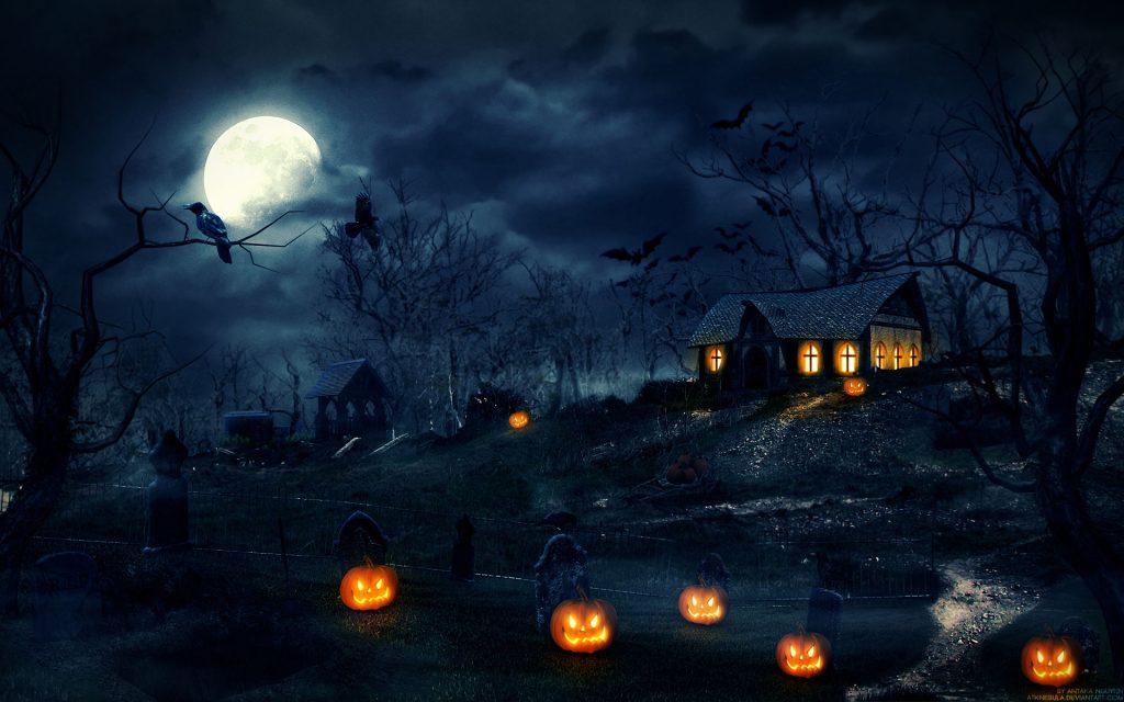 halloween wallpaper hd 1366x768