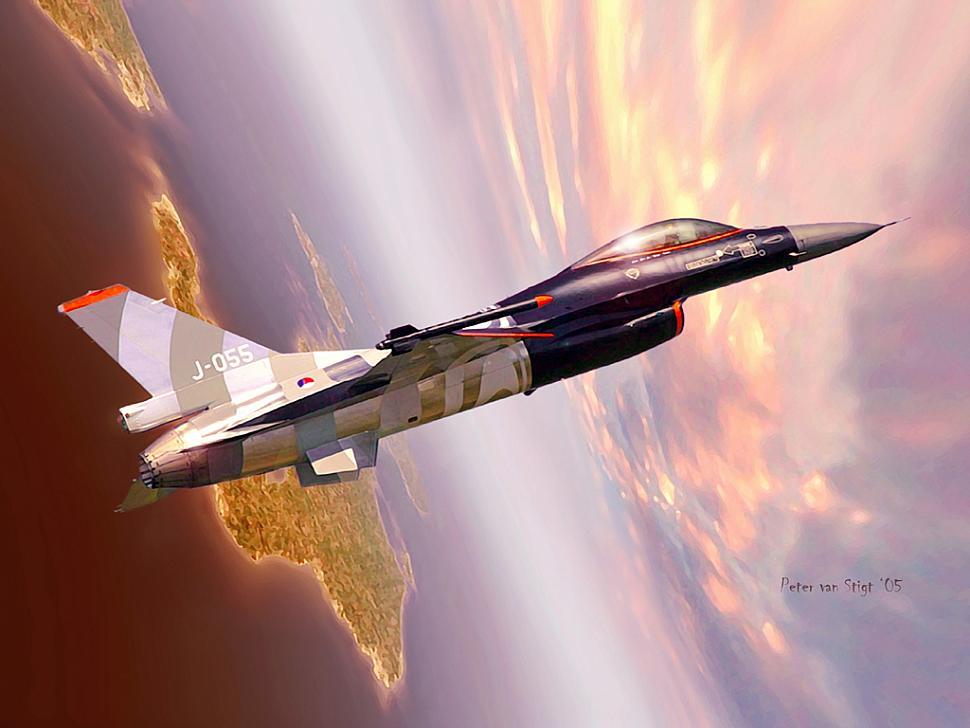 wallpaper f 16-falcon