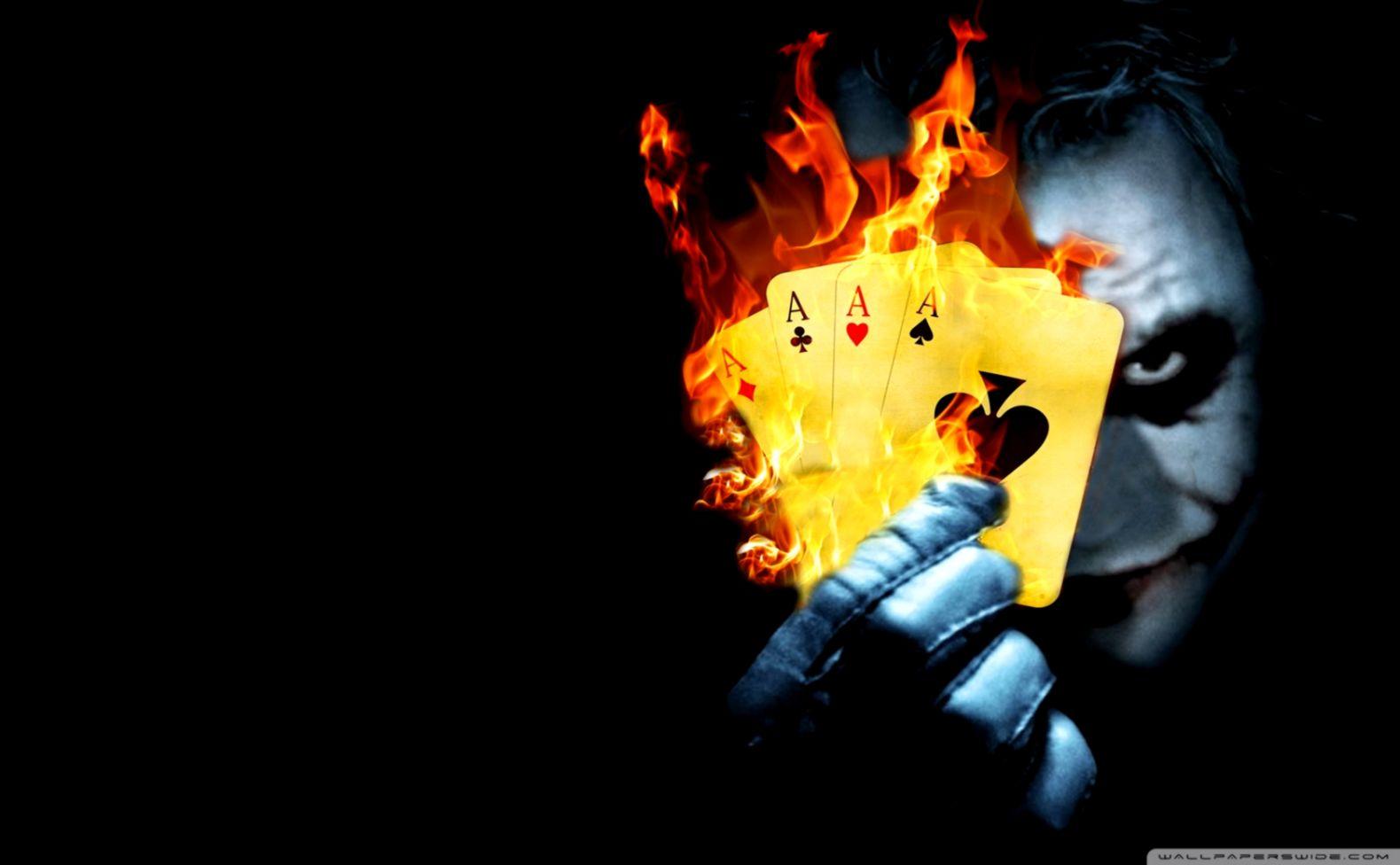 Joker en llamas