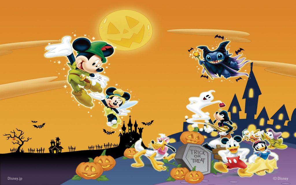 fondo halloween disney