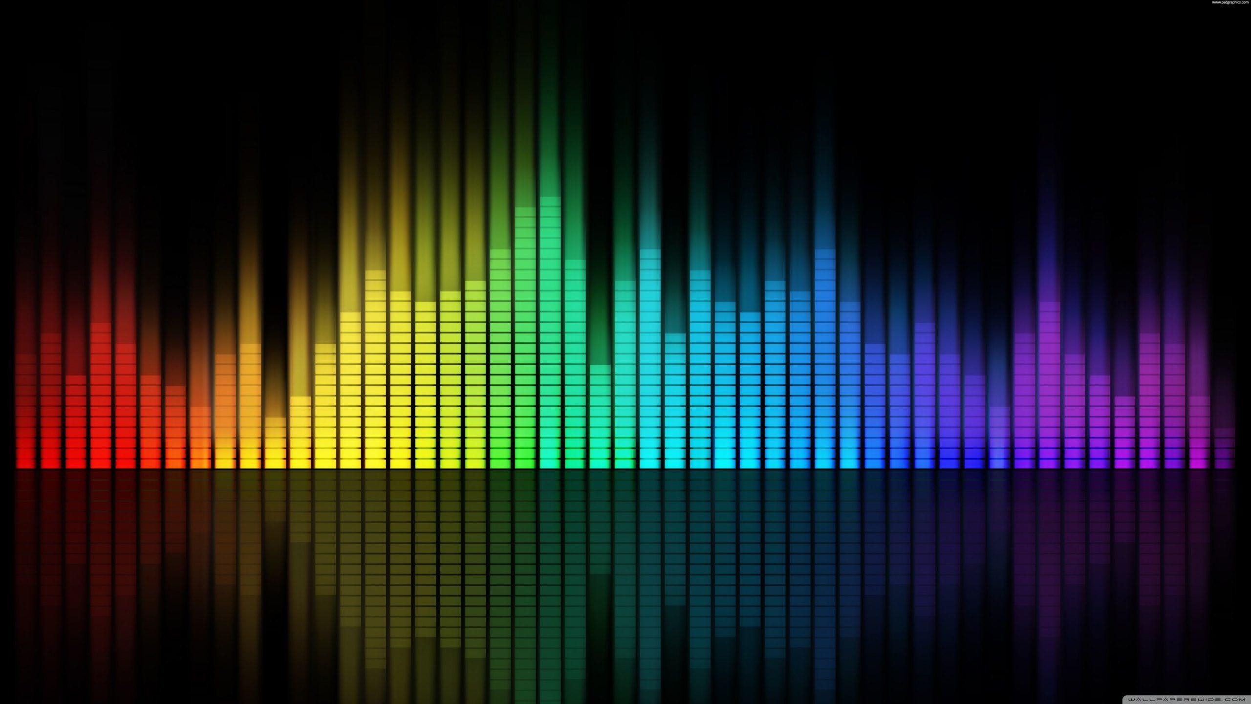 Ondas musicales 4k