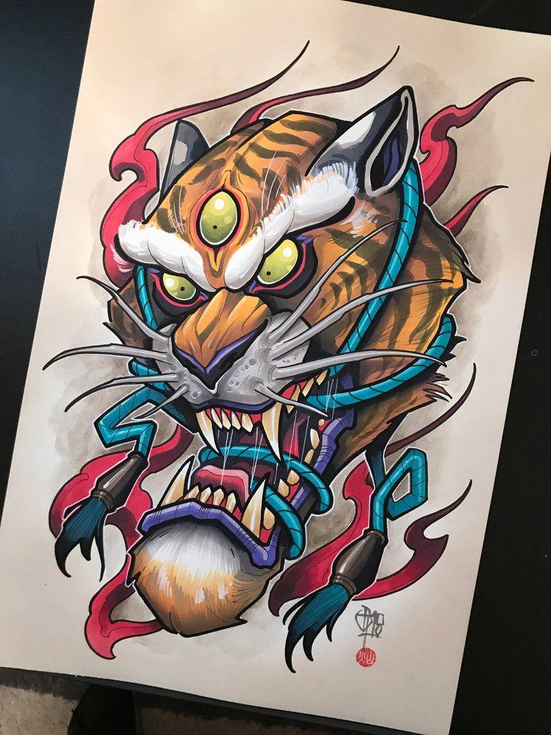 Tigre Japones