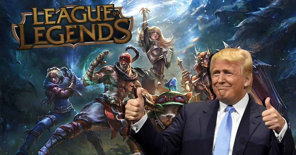 Con Donald Trump