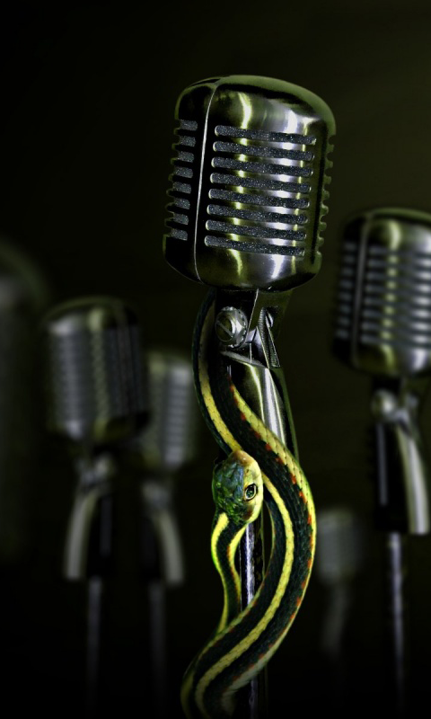 Fondo para android de microfonos