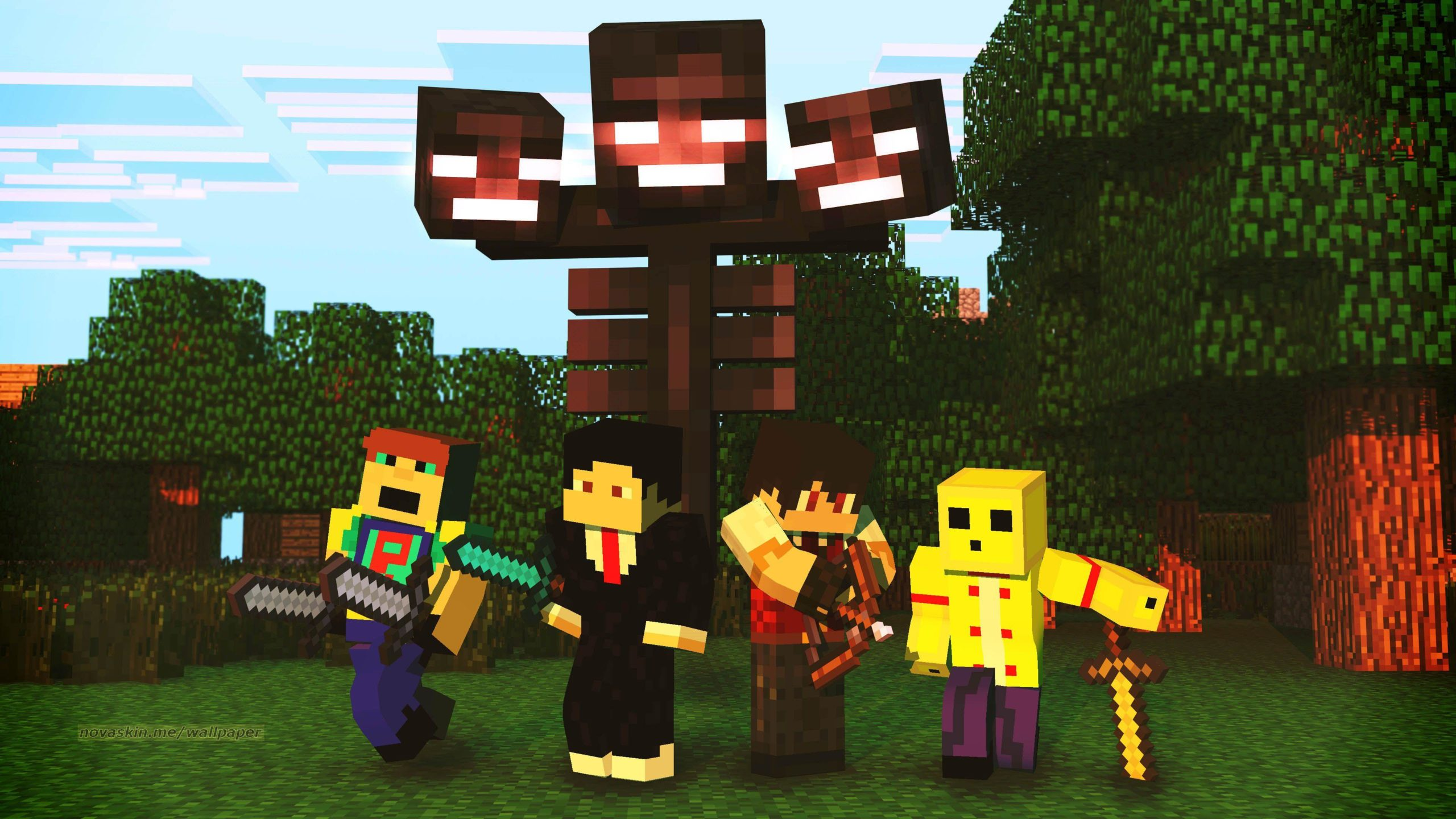 Fondo de MiniCraft HD