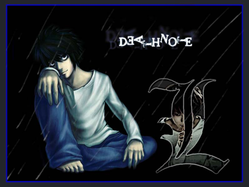 l wallpaper death note hd