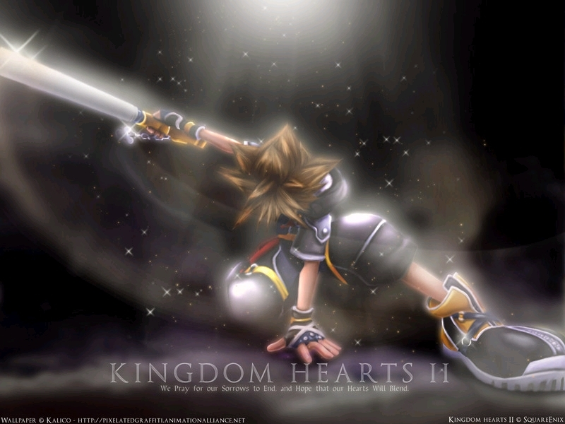 wallpapers kingdom hearts 2