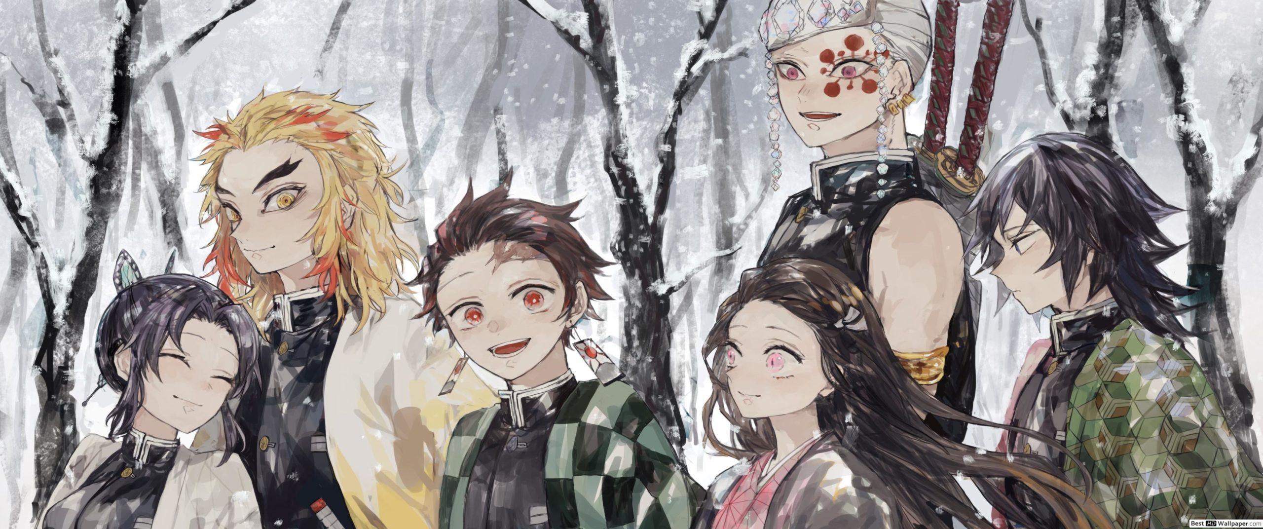 Fondo de pantalla kimetsu