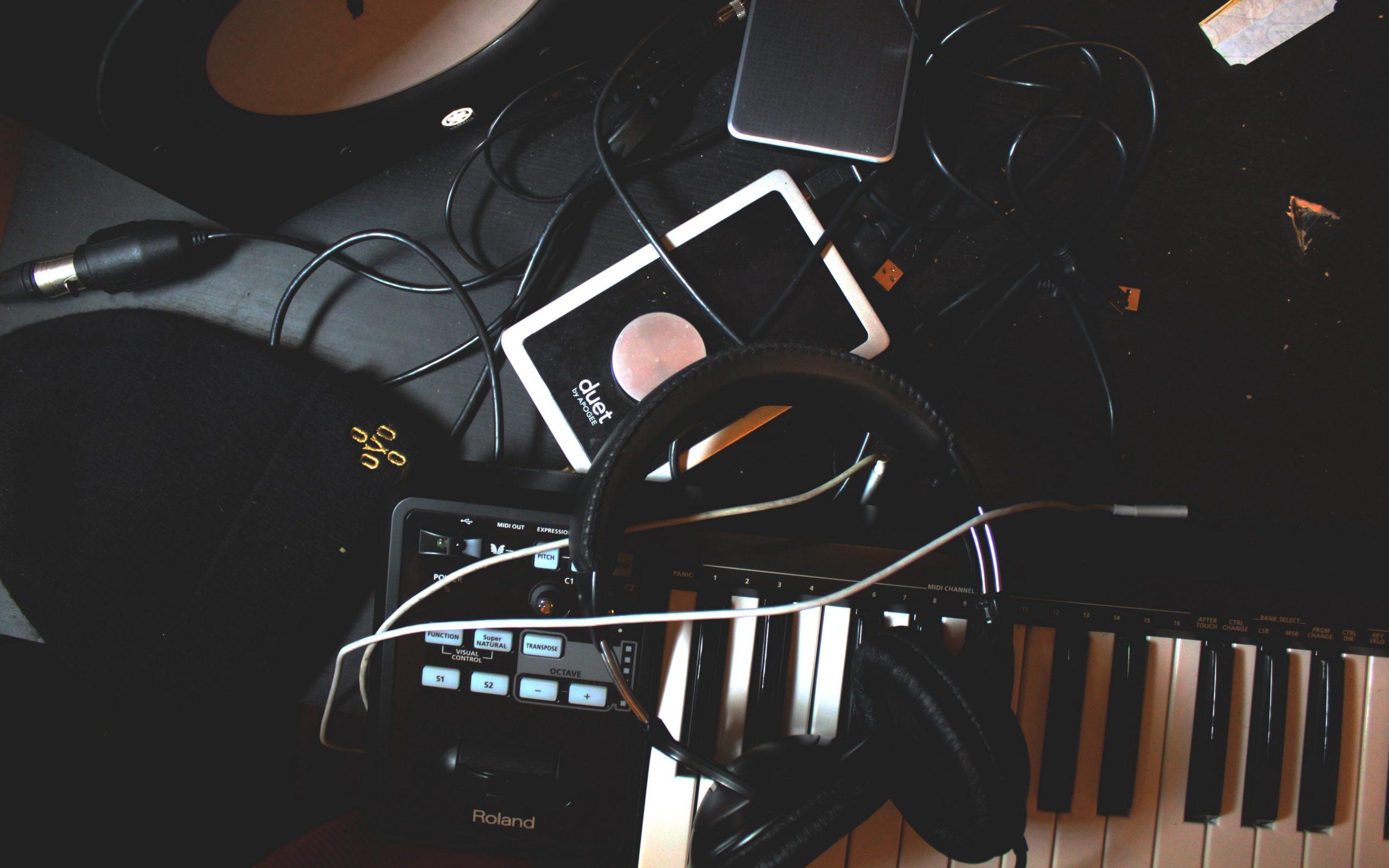 Fondo musical Sintetizador 4k