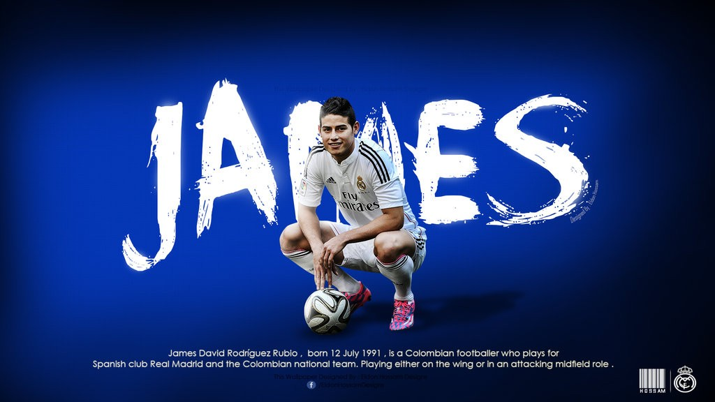 wallpapers james rodriguez real madrid