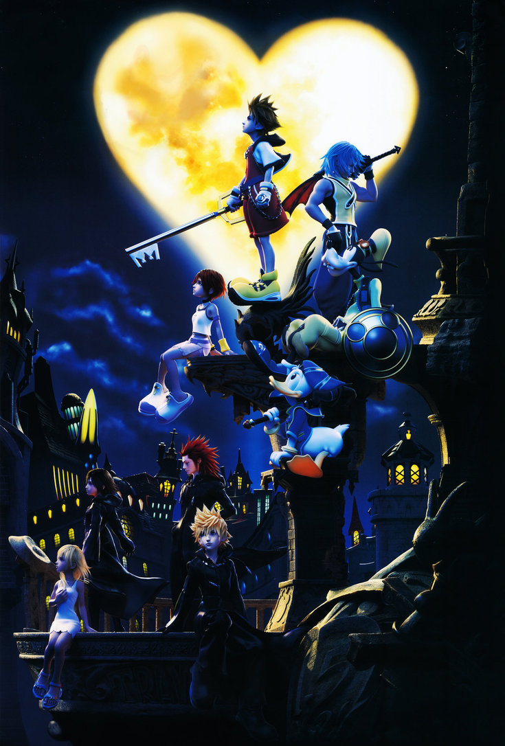kingdom hearts hd wallpapers 1080p
