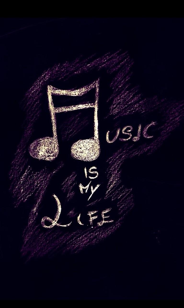 Music is my life fondo de pantalla android