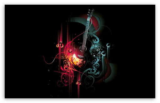 Fondo de guitarra 4k