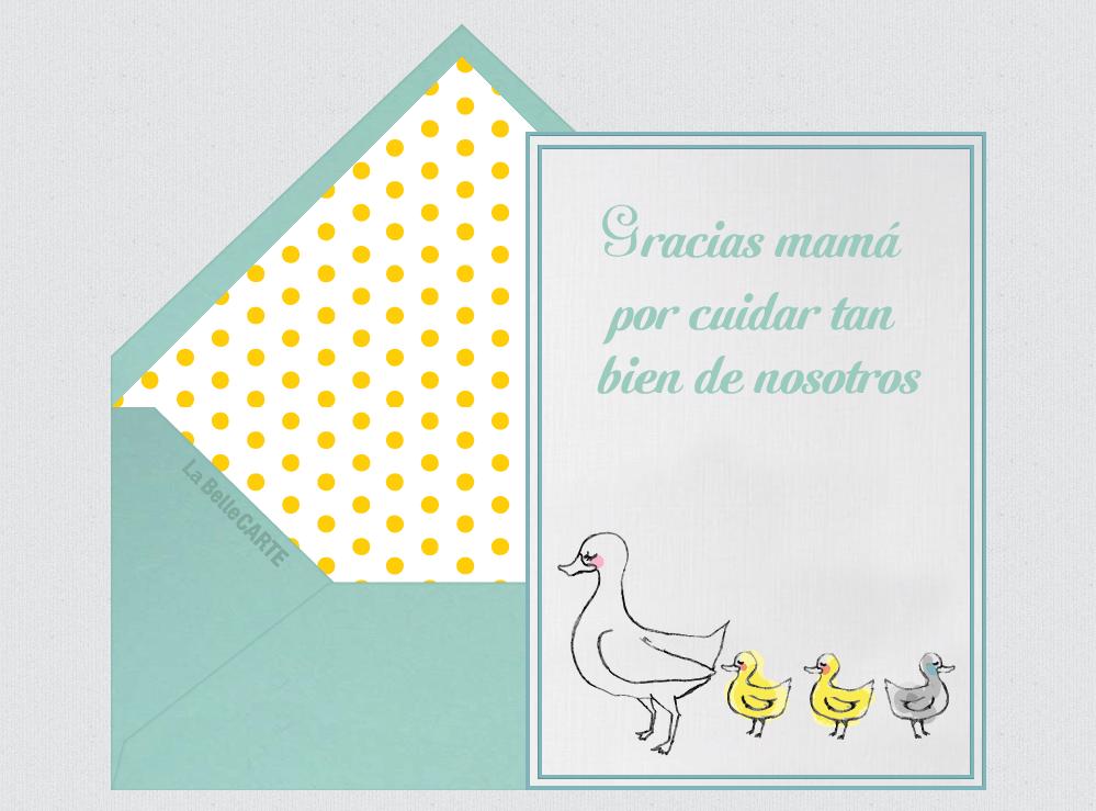 cómo hacer una invitación para el dia de las madres