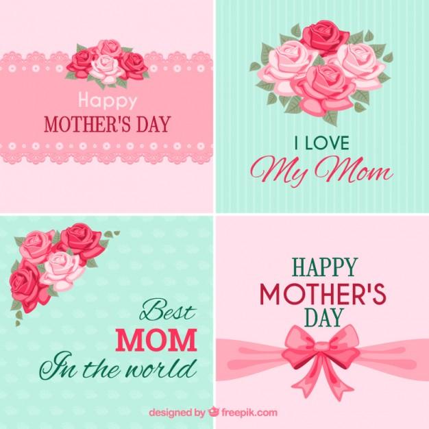 descargar vectores gratis dia de la madre
