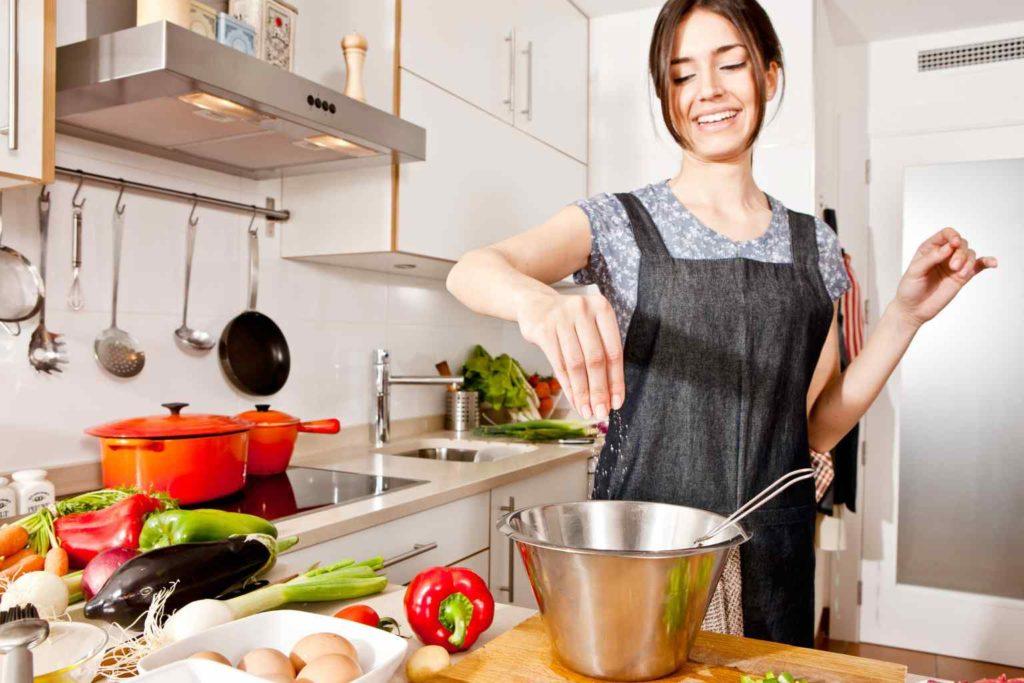 fondos madres cocinando con hijos