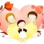 Fondos de pantalla de madres e hijos