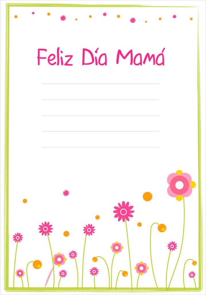invitaciones para el dia de la madre para imprimir