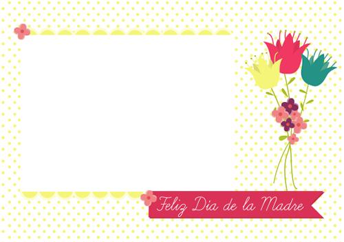 invitaciones dia de las madres para personalizar