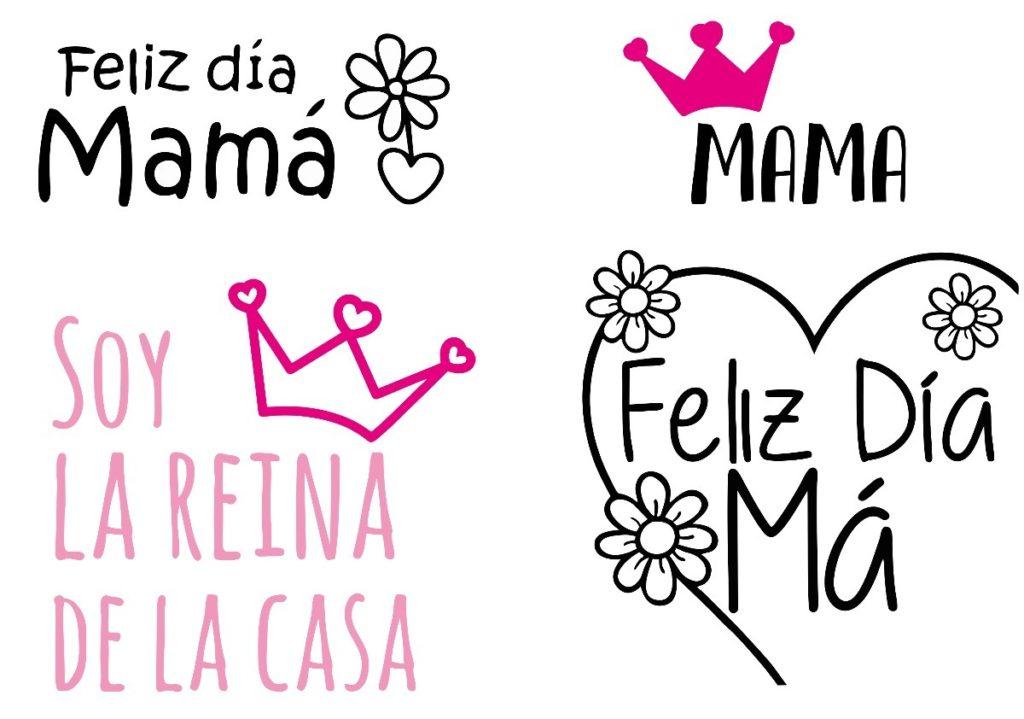 tarjetas para el dia de la madre en vectores