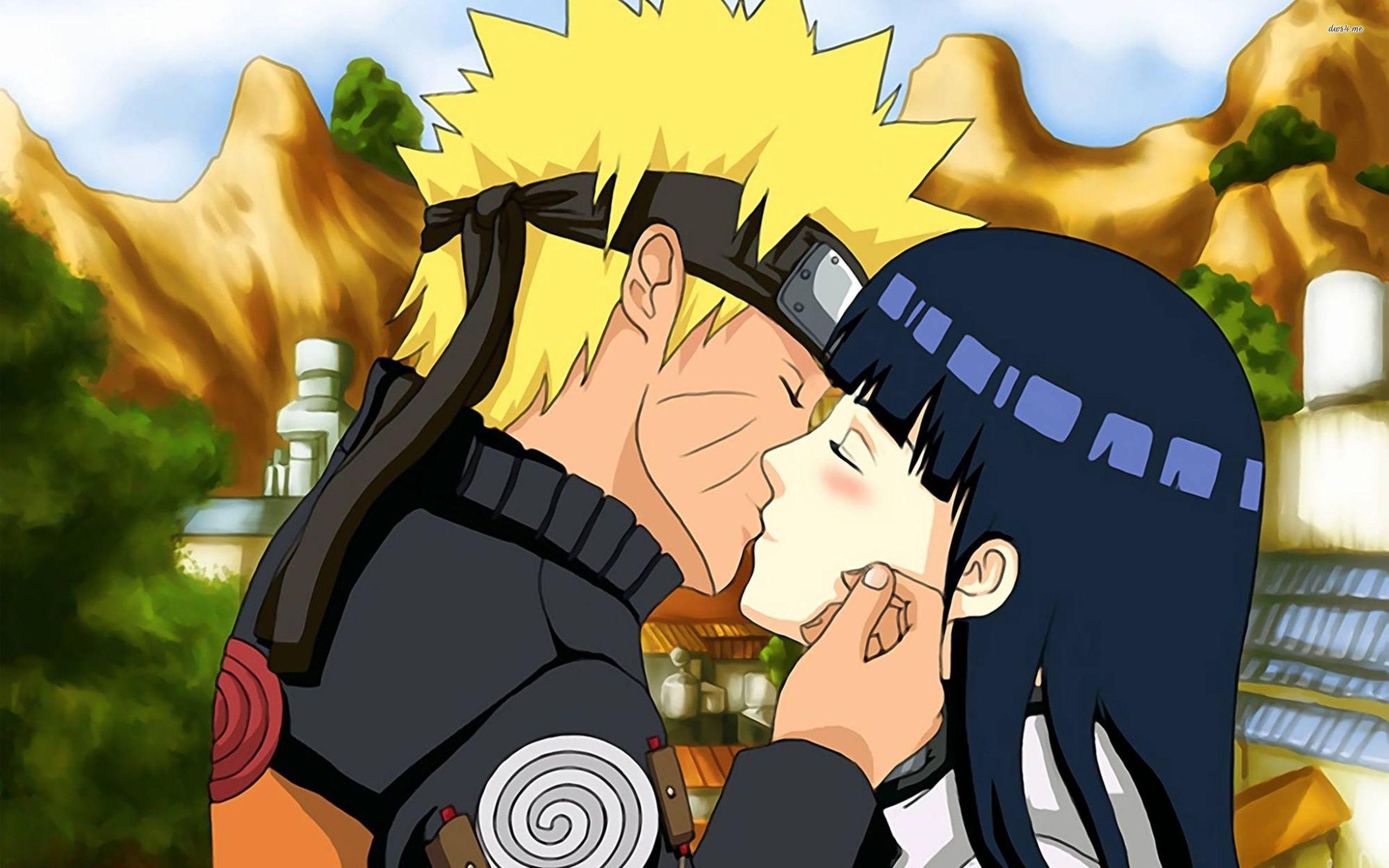 Naruto fondo de los personajes Naruto y Hinata