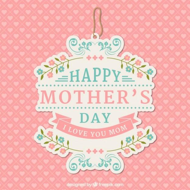 feliz dia delas madres vector free