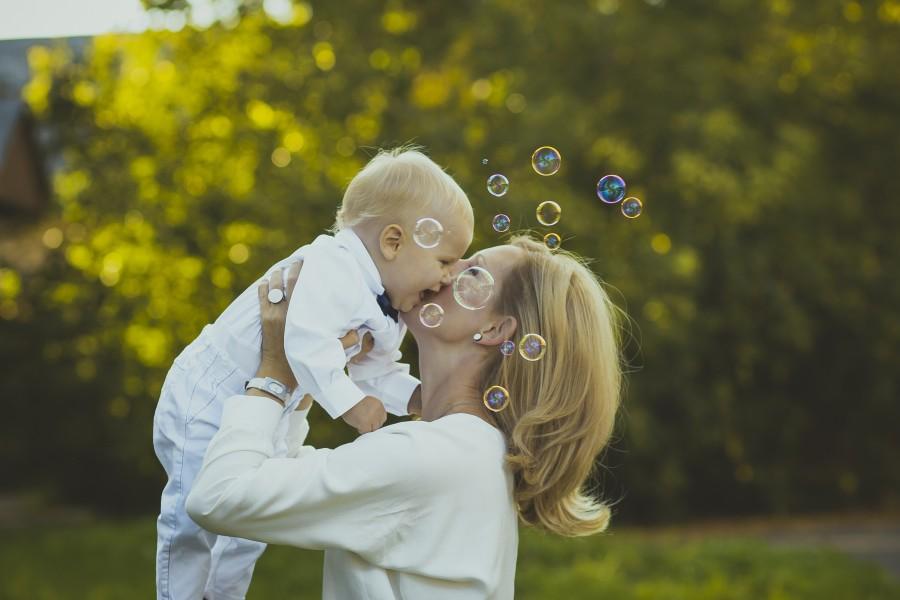 Fondos de pantalla madre e hijo