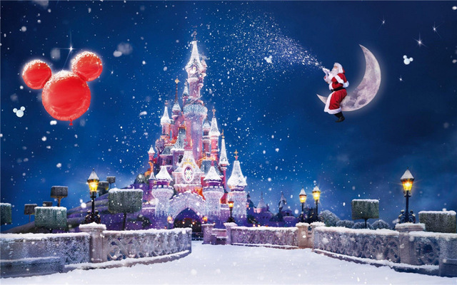 wallpapers navideños disney
