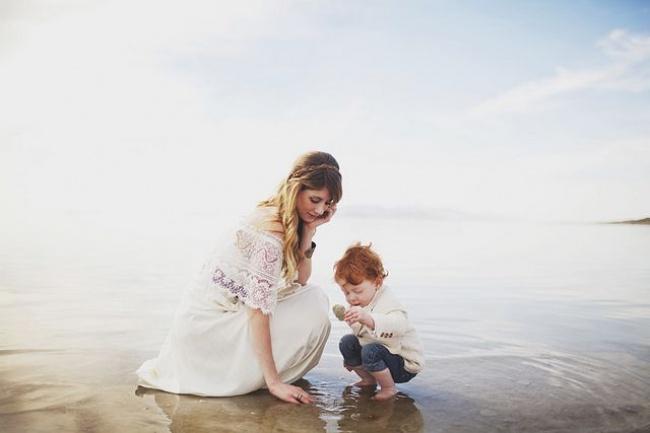 imágenes de madres e hijos varones