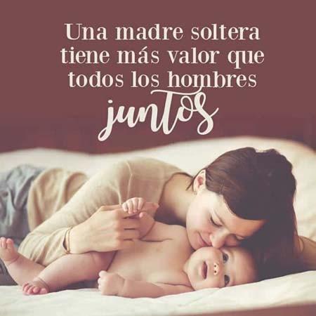 imagen de madres solteras para el facebook