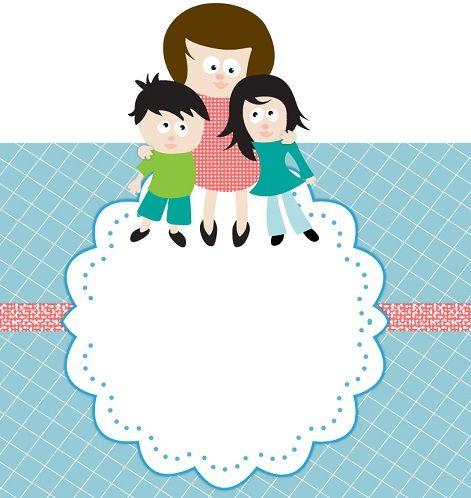 invitaciones para el dia de la madre para imprimir gratis