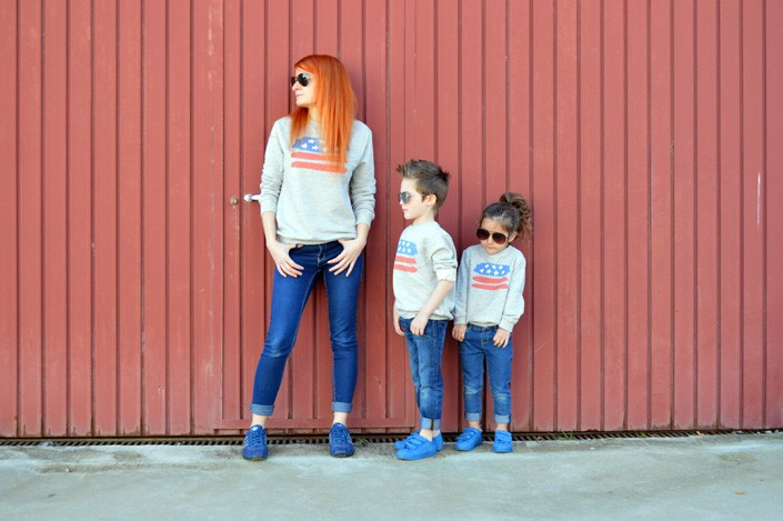 fotos madre e hijo vestidos iguales