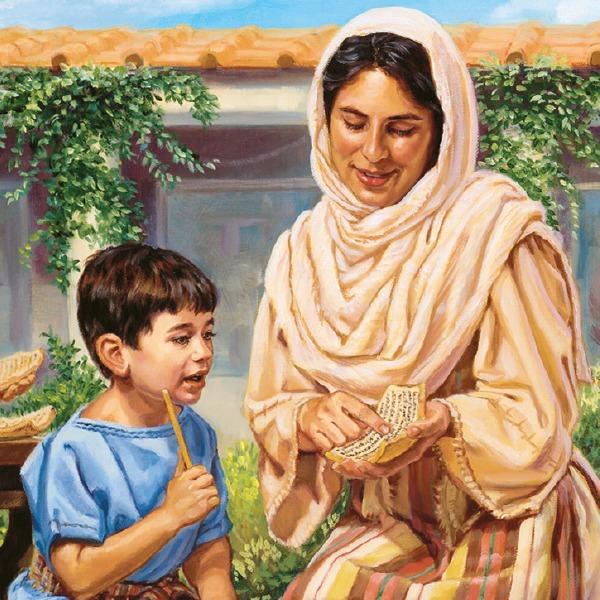 madres e hijos de la biblia