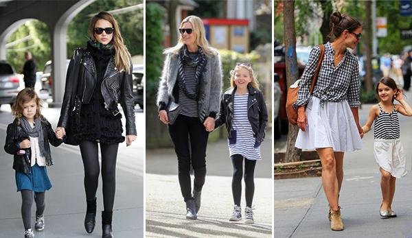 imagenes de madres e hijos vestidos iguales