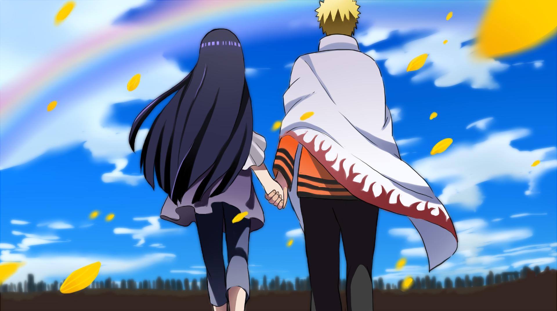 Fondo de Naruto y Hinata
