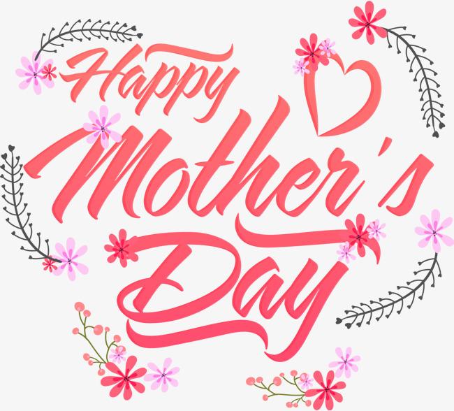 vector corazon dia de la madre