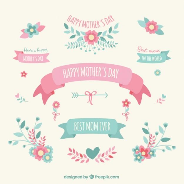 vectores por dia de la madre