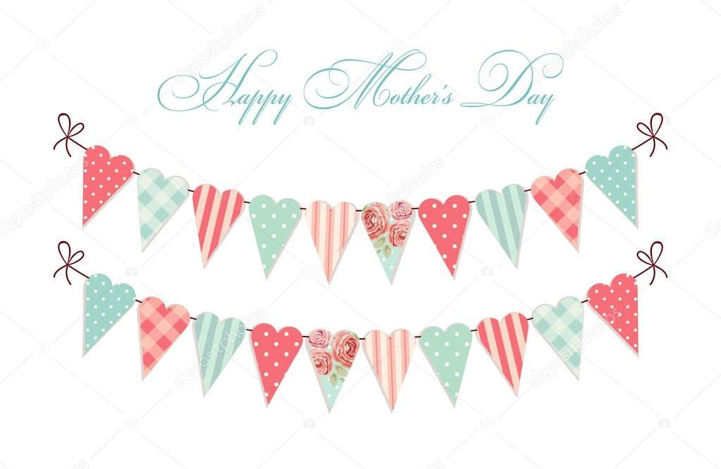 vectores para tarjetas del dia de la madre